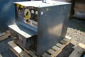 Lincoln Multi Process Dc Cv Welder Idealarc 230 460v 3 Phase Dc 400
