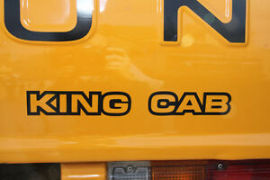 New 1980 1984 Datsun 720 Truck King Cab Rear Tailgate Decal
