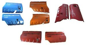 C6 Chevy Ls3 Corvette Painted Color Coded Gm Fuel Rail Covers