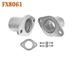 Fx8061 2 1 8 Semi Direct Fit Exhaust Muffler Pipe Flange Repair Kit W Gasket