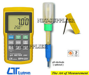 Brand New Lutron Bph 231 Bench Type Ph Meter Tester Data Logger