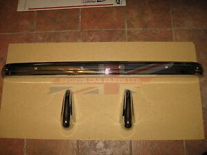 Brand New Rear Bumper With Overriders Or Guards 1955 1962 Mg Mga