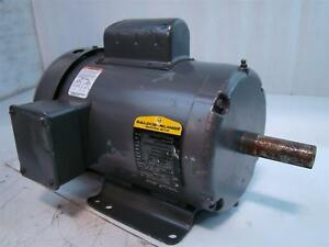 Baldor Reliance Industrial Motor 2hp 115 230v 23 11 5amps 1725rpm 60hz 1ph L3605