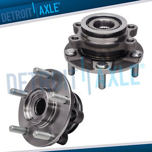 2 Front Wheel Bearing Hub W Abs For 2008 2013 Nissan Rogue 14 15 Rogue Select