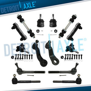 New 14pc Front Suspension Kit For Chevy And Gmc Trucks 2wd Only 7200 Gvw