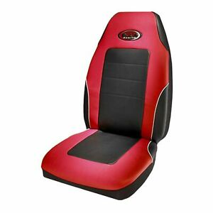 Plasticolor R Racing Seat Cover Red Black 006552r04