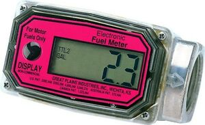 National Spencer Digital Liter Fuel Meter 1512l