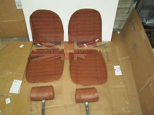 New Seat Covers Upholstery Mgb 1973 80 Made In Uk Headrests Autumn Leaf