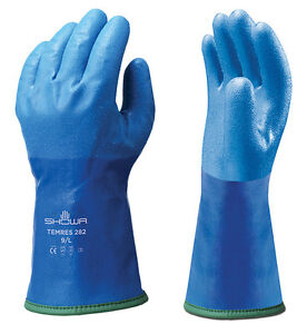 1 X Pair Of Showa 282 Temres Gloves Waterproof Breathable Insulated Thermal