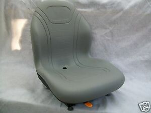 Gray Seat Bobcat ford New Holland case john Deere gehl Skid Steer Loaders fj
