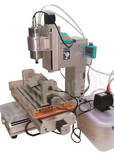 5 Axis 3040 Cnc Engraving Machine Table Column Type Ball Screw Router Table