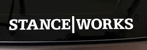 Cool Stanceworks Low Is A Lifestyle Car Window Decals Stickers
