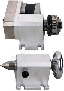 Router Rotational Axis Rotary F A axis 4th axis And Tailstock For Cnc Engraving