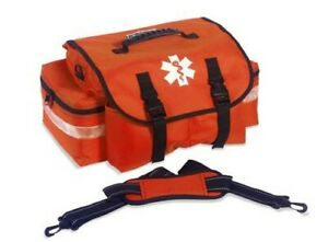 Emt First Aid Medical Case Trauma Responder Emergency Medic Empty Jump Bag