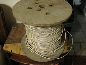 Awg 10 Insulated Copper Wire 2400 Ft Wood Spool