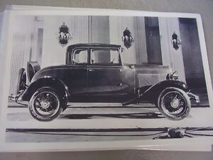 1931 Chevrolet 5 Window Coupe 12 X 18 Large Picture Photo