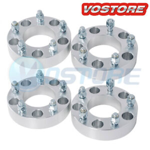 4 2 5 Lug Hubcentric Wheel Spacers Adapters 5x4 5 For Ford Ranger Explorer