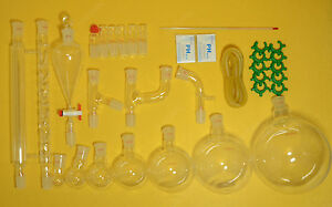 Lab Glassware Kit 2000ml 24 29 new Chemistry Glassware Kit 32pcs