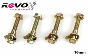 Camber Alignment Correction Kit Front 16mm Bolts Lower Shock Mount