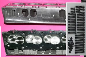 New 2 Gm Bbc Chevy 396 427 454 Alum Cylinder Heads Oval Ports Arp Bolt No Core