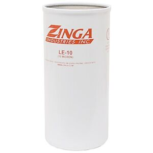 Hydraulic Oil Filter Element Zinga Le 10 Micron Fits Parker 927736 Case A45625