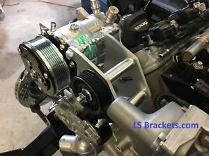 Camaro A c Sanden 709 Bracket For Ls Ls1 Or Lsx Street Rod With Camaro Drive