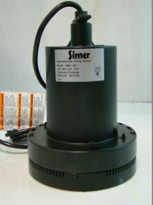 Simer Submersible Utility Pump 115v 6 0a 1 4hp 2305 04