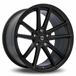 22 X 9 5 Inch White And Black 3198 Wheels Rim Tires Fit 5x115 Offset 15