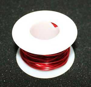 Enamel Coated Magnet Wire 20g 4oz Spool And One T 130 2 Iron Powder Toroid Core
