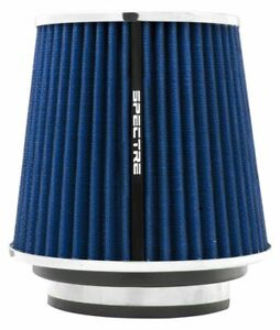 Spectre Hpr P4 Cone Air Filter Blue chrome 3 X 6 7 Tall 8136