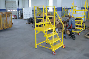 Nd 50 Satety Rolling Ladder osha Compliant
