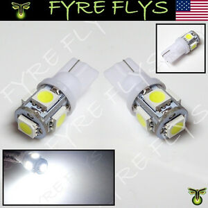 White Led License Plate Light Bulbs Bright 168 194 2825 Hid Xenon Lamps B m1