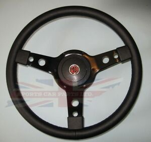 New 14 Vinyl Steering Wheel Adaptor Mga Midget 1964 67 Mgb 1963 1967 Black