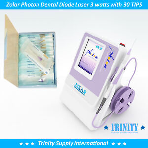 Dental Diode Laser 3 Watts Complete Zolar Photon With 30 Tips