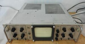 Vintage Tektronix Rm 529 Waveform Monitor