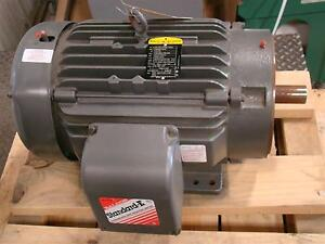Baldor Standard e 15 20hp Electric Motor 380 460v 42 46amps 2950rpm 3ph M113977