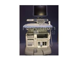Ge Vivid 7 Flat panel Display With M4s 9l Cardiac vascular Transducers