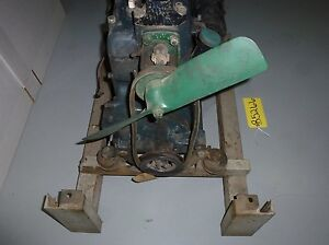 Ford Model A 4 Cylinder Stationary Engine With Stand And Fuel Tank