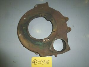 Ford Model A 4 Cylinder Bell Flywheel Housing With Cover Plate