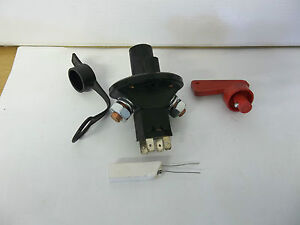 Master Battery Switch With Removable Key Car Truck Boat Agricultural Vehicies