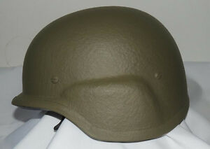 NEW MODEL Israeli PASGT Polyethylene Helmet Light Weight Level IIIA (3A) HPPE