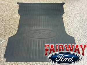 99 16 F 250 F 350 Super Duty Oem Genuine Ford Heavy Duty Rubber Bed Mat 6 3 4