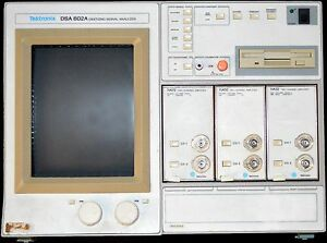 Tektronix Dsa 602a 11a72 11a52 11a32 Digitizing Signal Analyzer Tested