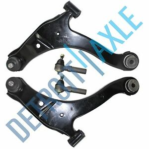 2000 2005 Dodge Neon Pair Front Lower Control Arm Set Outer Tie Rod End Links