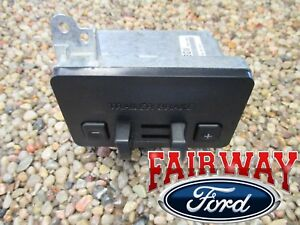 11 Thru 14 F 150 F150 Oem Genuine Ford Factory Dash Trailer Brake Controller Kit