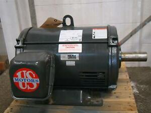Us Motors Emerson 25hp 230 460v Ph3 D25p2b J364