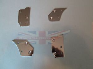 New Set Of Door Cap Cappings Mounting Brackets Mgb Gt 1965 80 Set Of Four