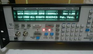 unused Analogic Data Precision 2040 Polynomial Waveform Synthesizer 2040b ghz