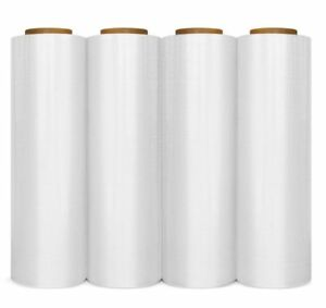 Clear Blown Hand Stretch Wrap Plastic Shrink Film Choose Your Rolls