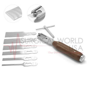 Chisel Gouge Osteotome Set Chisel Handle Orthopedic Surgical Instruments